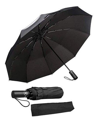 Paraguas Premium A Prueba De Viento, Elegante Y Simple, Comp