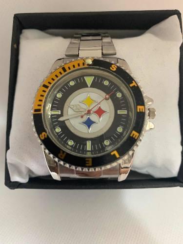 Reloj Deportivo Acereros Pitsburg Steelers De Colección