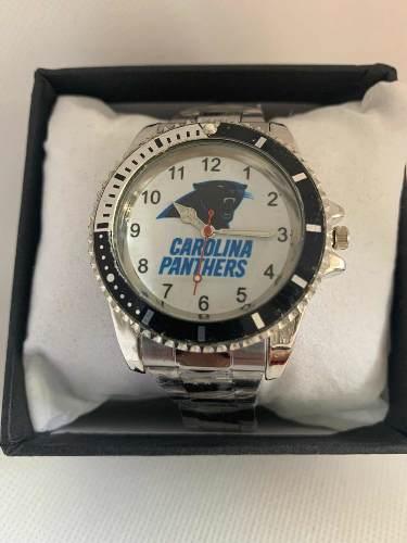 Reloj Deportivo Panteras De Carolina De Colección Acero