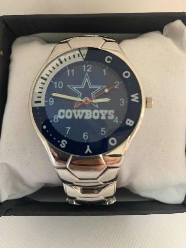Reloj Deportivo Vaqueros De Dallas De Colección Acero