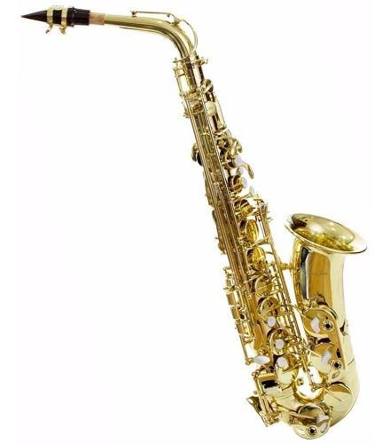Saxofon Silvertone Slsx009 Nuevo C/ Estuche Envío