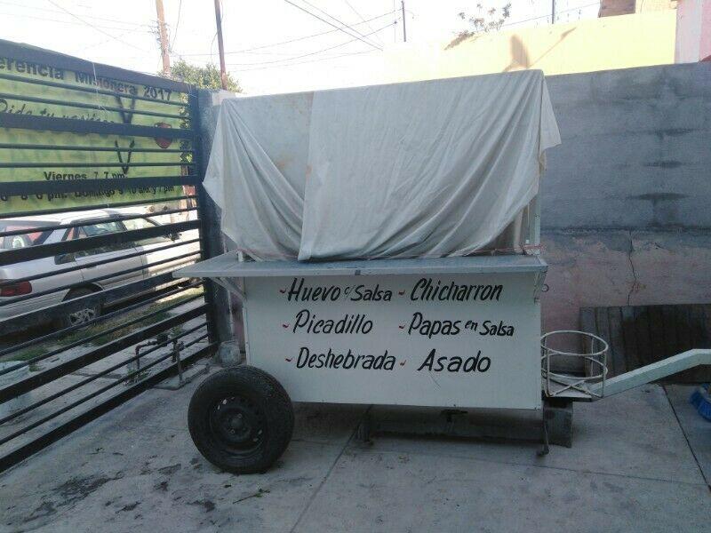 Vendo carrito de tacos