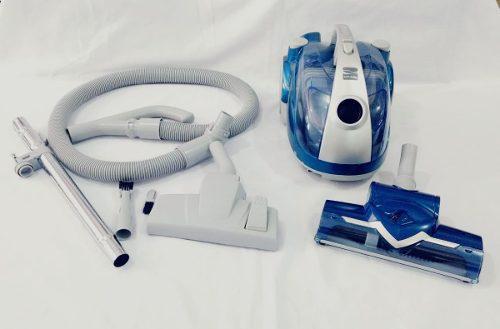 Aspiradora Compacta Sin Bolsa Con Cepillo De Turbina, Azul