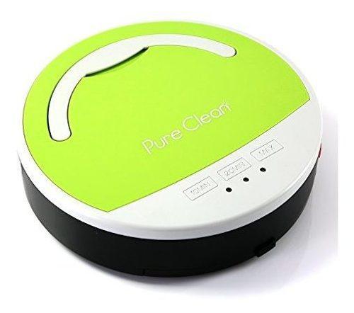 Aspiradora Robot Para Piso Color Verde