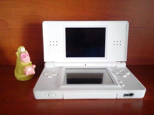 Consola Portátil Nintendo Ds Lite Blanca + 1 Cartucho