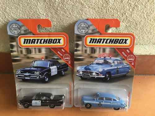 2 Patrullas Matchboxs De La Decada De Los 50¨s
