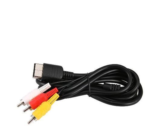Cable Adaptador Rca Av A/v Para Sega Dreamcast Estéreo