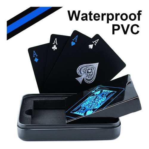 Cartas Baraja Poker Pvc Juego De Naipes A Prueba De Agua