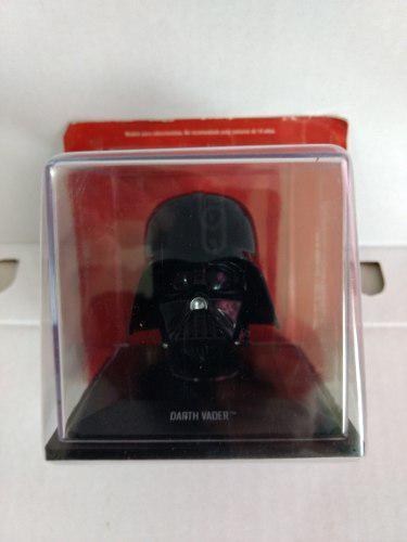 Casco Miniatura Darth Vader Star Wars Original Con Folleto