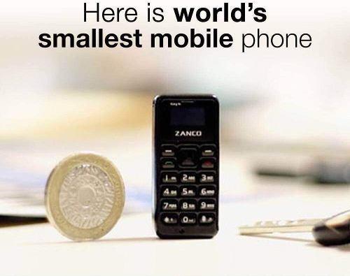 Celular Zanco Tiny T1 El Teléfono Más Pequeño Del Mundo