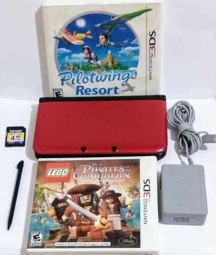Consola Nintendo 3ds Xl Usado En Buenas Condiciones 2 Juegos