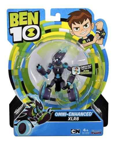 Figura De Acción Ben 10 Omni-enhanced Xlr8 Blakhelmet E