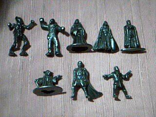 Figuras Star Wars - Coleccion 8 Figuras Metalicas Miniatura
