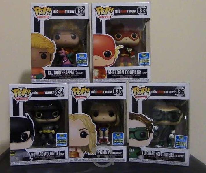 Funko Pop Big Bang Theory SDCC Heroes Leonard Shel