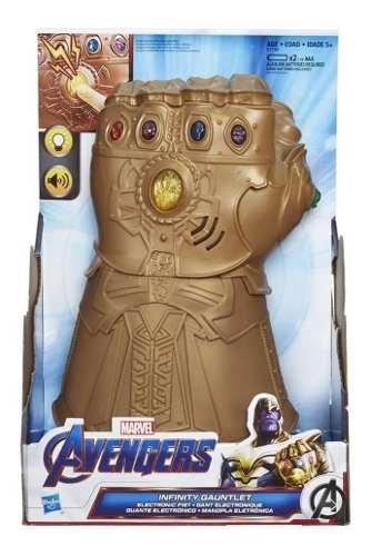 Guante Electrónico Marvel Avengers Thanos End Game Hasbro