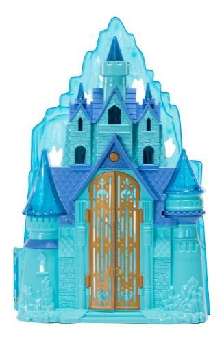 Hf Castillo Frozen Luz Sonido  Juguete Didáctico Niñas