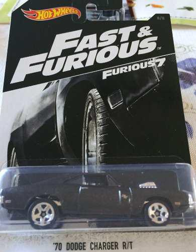 Hotwheels Fast & Furious '70 Dodge Charger R/t #8 2018
