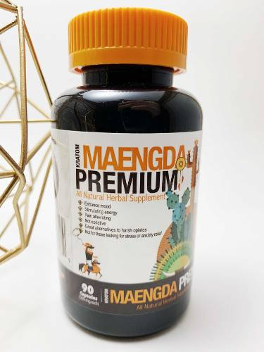 Kratom 90 Cápsulas Maengda Premium