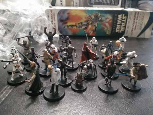 Lote 87 Miniaturas Star Wars Wizards Of The Coast