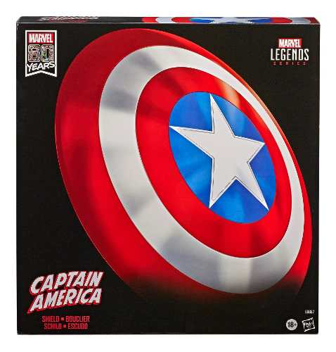 Marvel Legends Escudo Clásico Captain America