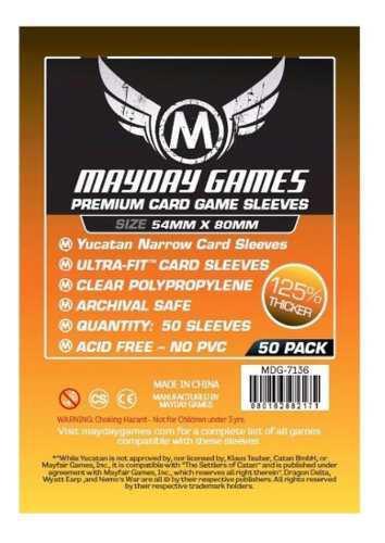 Mayday Micas Yucatan Premium 54x80mm Pack 50