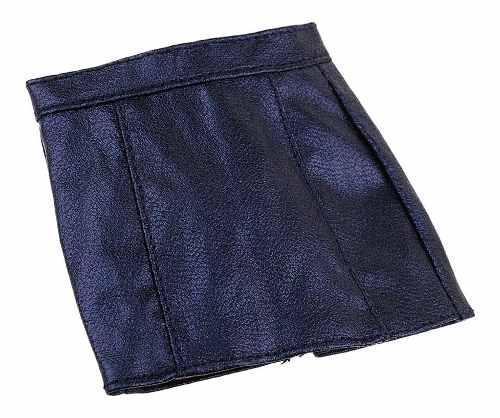 Miniatura Juguete Escala 1/6 Falda Cuero Pu 6 Cm Largo Para