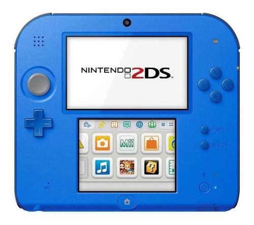 Nintendo 2ds Rojo Y Azul Refurbished