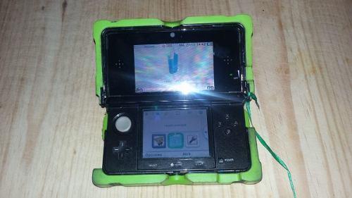 Nintendo 3ds Lite Con Carcasa Nerf A Prueba De Golpes Lapiz