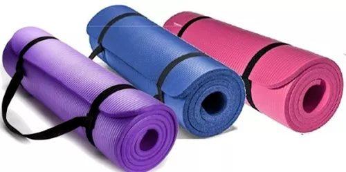 Paquete De 10 Tapetes De Yoga Para Aerobics Y Gimnasia