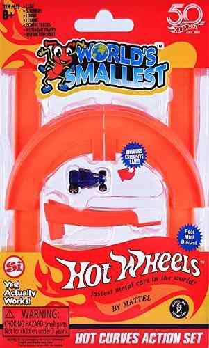Set Hot Wheels Miniatura Pista Worlds Smallest Hot Curves