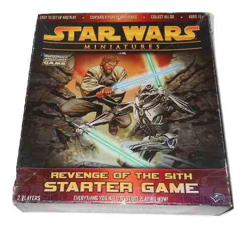 Star Wars Miniatures Revenge Of The Sith Juego Wizards Coast