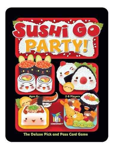 Sushi Go Party! - Juego De Mesa / Envio Gratis
