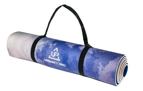 Tapete Yoga Impreso Diseño Tipo Gaiam Antiderrapante 6mm