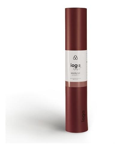 Tapete Yoga Premium Ioga Serenity Mat 5mm Caucho Tipo Seda
