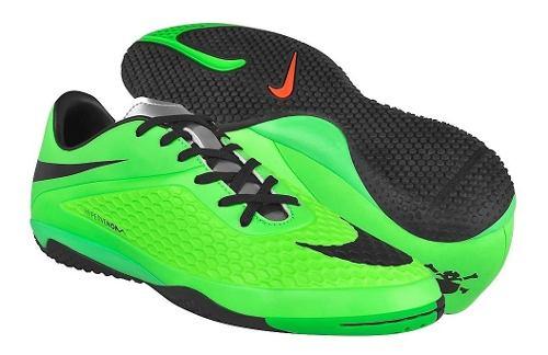Tenis De Futbol Nike Para Hombre Simipiel Verde Negro