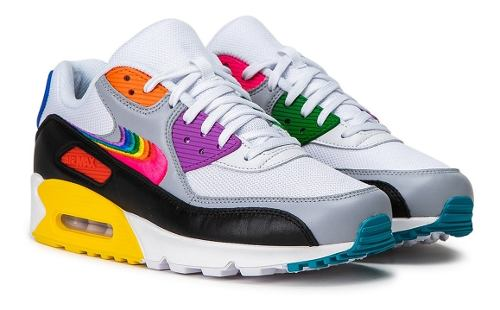 Tenis Nike Air Max 90 Betrue Moda Casual Retro Pride