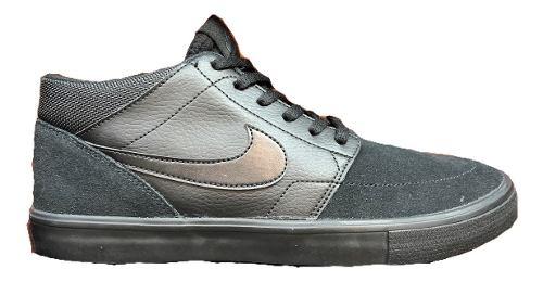 Tenis Nike Sb Portmore Mid Negro  Look Trendy