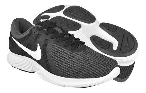 Tenis Para Caballero Nike  Negro Con Blanco
