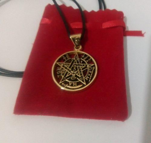 X6 Tetragramaton Talisman Activado + Correa, Morral Y Envío