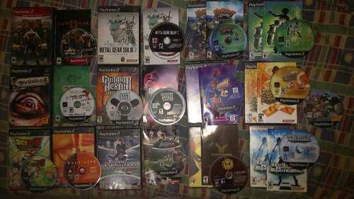 14 Juegos Playstation 2 Originales