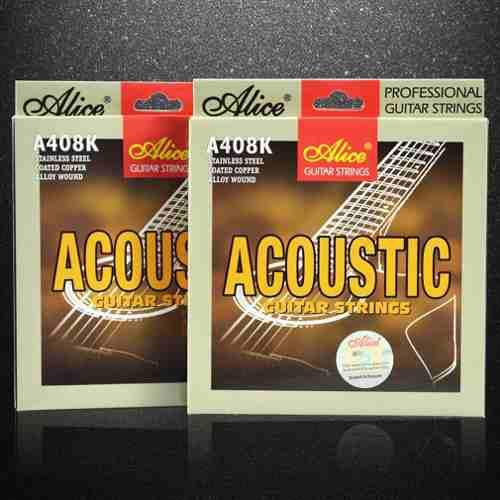 Accesorios Instrumento Musical Alicia Cuerdas Guitarra Folk