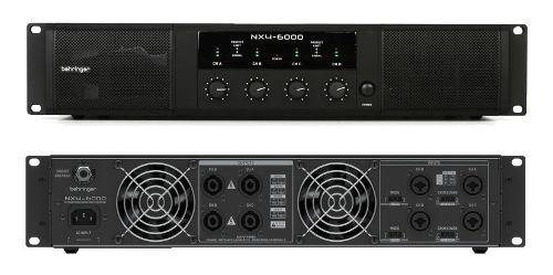 Amplificador 4 Canales 6000 Watts Behringer Nx4-6000 +