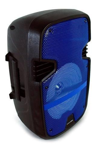 Bafles Amplificados Bocina Bluetooth 8 Pulgadas Recargable