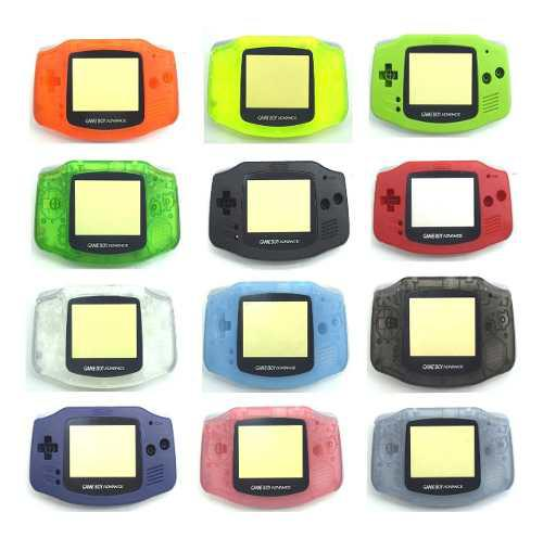 Carcasa Para Nintendo Gameboy Advance Retro Games