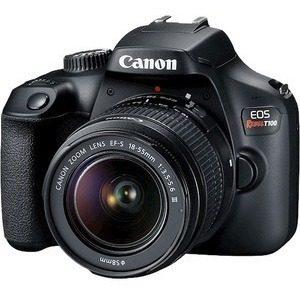 Cámara Digital Slr Con Objetivo Canon Eos Rebel T100 -