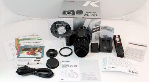 Cámara Slr Pentax Ks-1 Kit Con Lente  Mm   Negra
