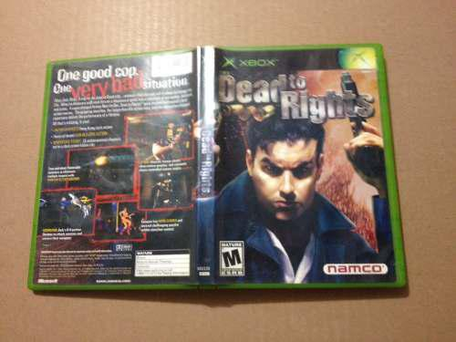 Dead To Rights X Box Clasico Compatible Con 360