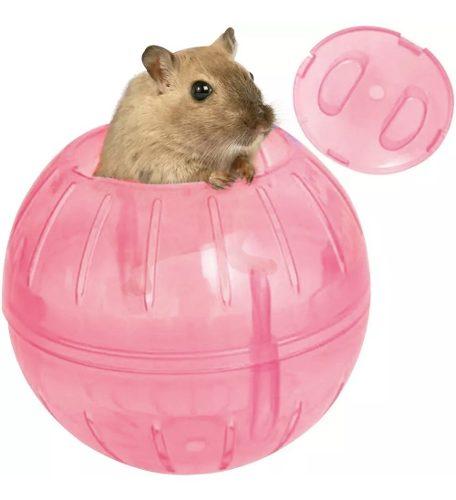 Esfera Bola De Ejercicio Para Mascota Hamster Rosa Q