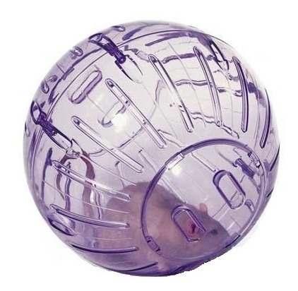 Esfera Para Hamster 18cm Diámetro Varios Colores Con Base