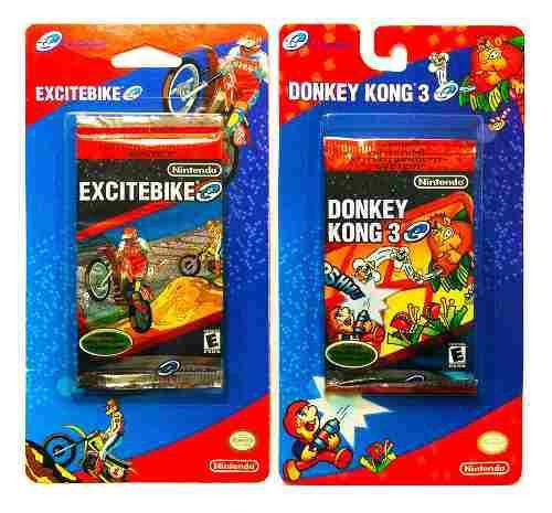 Excitebike & Donkey Kong 3 Tarjetas E Reader - Nintendo Gba